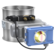 Throttle- / Shut-off valves with seal, pneumatically operated with rotary actuator5/2-way-solenoid-valve (1 coil), 2 mechanical